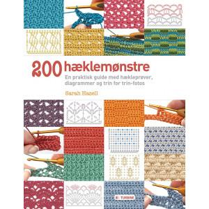 200 hæklemønstre - Bok av Sarah Hazell