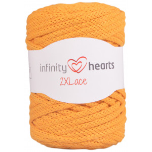 Infinity Hearts 2XLace Garn 28 Sennepsgul