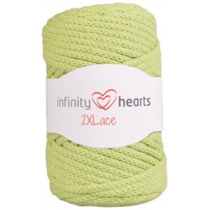 Infinity Hearts 2XLace Garn 11 Pistasjgrønn