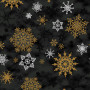 Christmas Wonders Bomullsstoff 112cm Farge 901 - 50cm