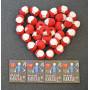 Infinity Hearts Rose 8/4 Garn Unicolor 19 Rød