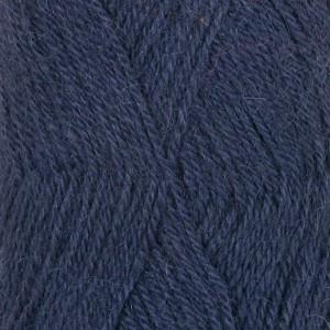 Drops Alpaca Garn Unicolor 4305 Lilla/Grå/Blå