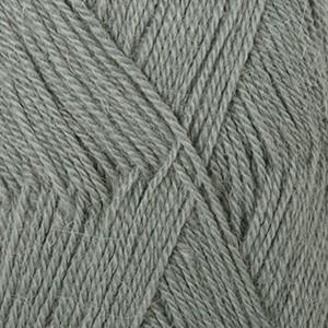 Drops Alpaca Garn Unicolor 7139 Grågrønn