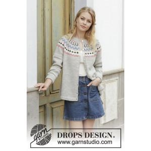 Mina Cardiganby DROPS Design - Jakke Strikkeopskrift str. S - XXXL