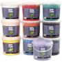 Silk Clay®, ass. farver, 10x650g