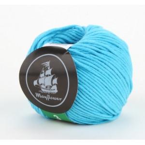 Mayflower Cotton 3 Garn Unicolor 337 Turkis