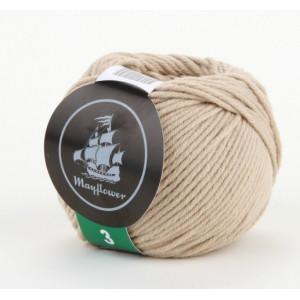 Mayflower Cotton 3 Garn Unicolor 347 Beige
