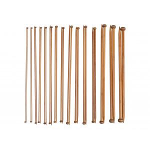 Bambus Jumperpinnesett 2-10 mm 15 størrelser