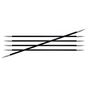 KnitPro Karbonz Strømpepinner Karbonfiber 20cm 5,50mm / US9