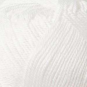 Järbo 8/4 Garn Unicolor 32010 Hvit
