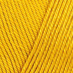 Järbo 8/4 Garn Unicolor 32074 Kraftig Gul
