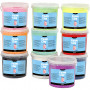 Foam Clay®, 10x560 g, ass. farger