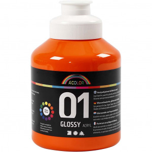 Bilde av A-color Akrylmaling, 500 Ml, Orange