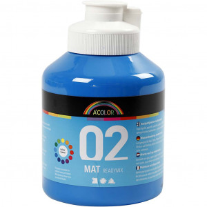 Bilde av A-color Akrylmaling, 500 Ml, Primær Blå