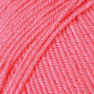 Järbo Soft Raggi Garn Unicolor 31213 Korall