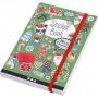 Bok med stickers, str. 11,5x17 cm, tykkelse 1,5 cm, 1 stk.