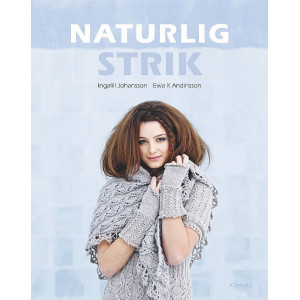 Naturlig strik - Bok av Ingalill Johansson