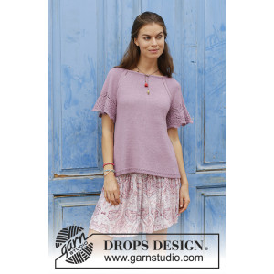 Sweet Susan av DROPS Design - Topp Strikkeoppskrift str. S-XXXL