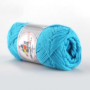Mayflower Cotton 8/4 Junior Garn Unicolor 1424 Turkis