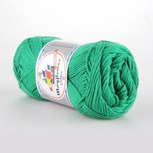 Mayflower Cotton 8/4 Junior Garn Unicolor 1427 Grønn