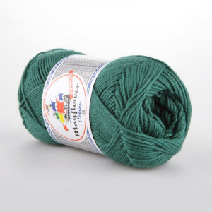 Mayflower Cotton 8/4 Junior Garn Unicolor 1429 Petrol