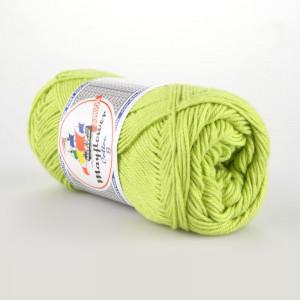 Mayflower Cotton 8/4 Junior Garn Unicolor 1446 Lys Grønn