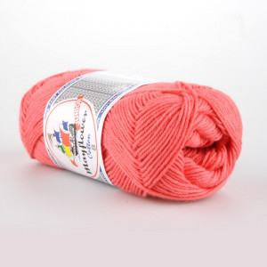 Mayflower Cotton 8/4 Junior Garn Unicolor 1460 Korall