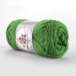 Mayflower Cotton 8/4 Junior Garn Unicolor 1476 Gressgrønn