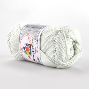 Mayflower Cotton 8/4 Junior Garn Unicolor 1486 Lys Mintgrønn