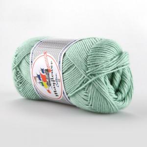 Mayflower Cotton 8/4 Junior Garn Unicolor 1492 Mintgrønn