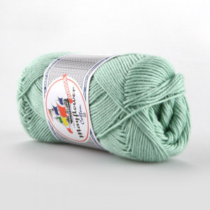 Mayflower Cotton 8/4 Junior Garn Unicolor 1492 Mintgrønn