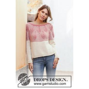 Spring Harvest by DROPS Design - Bluse Strikkeopskrift str. S - XXXL