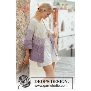 Wistful by DROPS Design - Jakke Strikkeopskrift str. S - XXXL