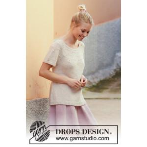 Dandelion Dreams av DROPS Design - Topp Strikkeoppskrift str. S - XXXL