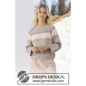Rose Water by DROPS Design - Bluse Strikkeopskrift str. S - XXXL