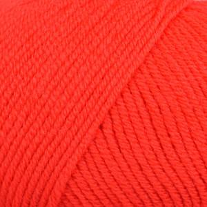 Infinity Hearts Baby Merino Garn Unicolor 21 Rød