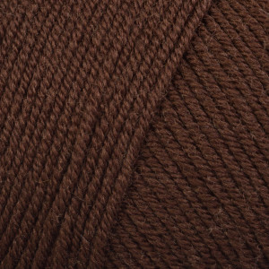 Infinity Hearts Baby Merino Garn Unicolor 33 Mørkebrun