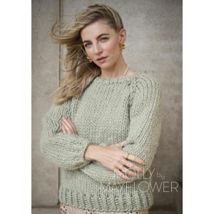 Ruthsweateren Molly By Mayflower - Genser Strikkeoppskrift str. S -XL