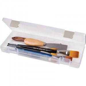 ArtBin Plastboks til strikkepinner Transparent 31,5x11,5x3,5 cm