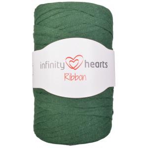 Infinity Hearts Ribbon Stoffgarn 14 Flaskegrønn