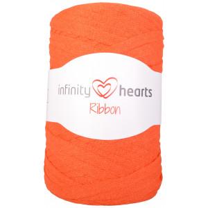 Infinity Hearts Ribbon Stoffgarn 26 Oransje