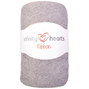 Infinity Hearts Ribbon Stoffgarn 05 Grå