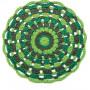 Hoooked Mandala-Matte - Teppe Hekleoppskrift