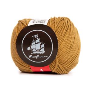 Mayflower Cotton 1 Garn Unicolor 165 Oliven