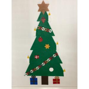 Juletre med pynt Julemønster av Rito Krea - Perlemønster Jul 58-72-87cm