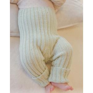 First Impression Pants by DROPS Design - Baby bukser Strikkeoppskrift str. Prematur - 4 år