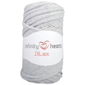Infinity Hearts 2XLace Garn 04 Lysegrå