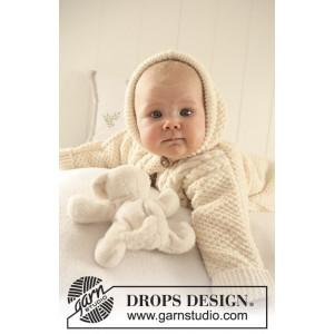 Sleeping Beauty by DROPS Design - Baby Kjørepose Strikkeoppskrift str. 1 mdr - 4 år