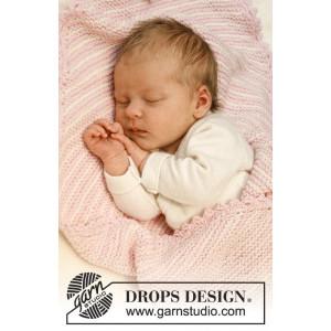 Checco's Dream by DROPS Design Baby Jakke Strikkeoppskrift