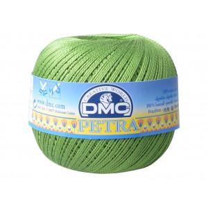 DMC Petra nr. 5 Heklegarn Unicolor 5905 Gressgrønn